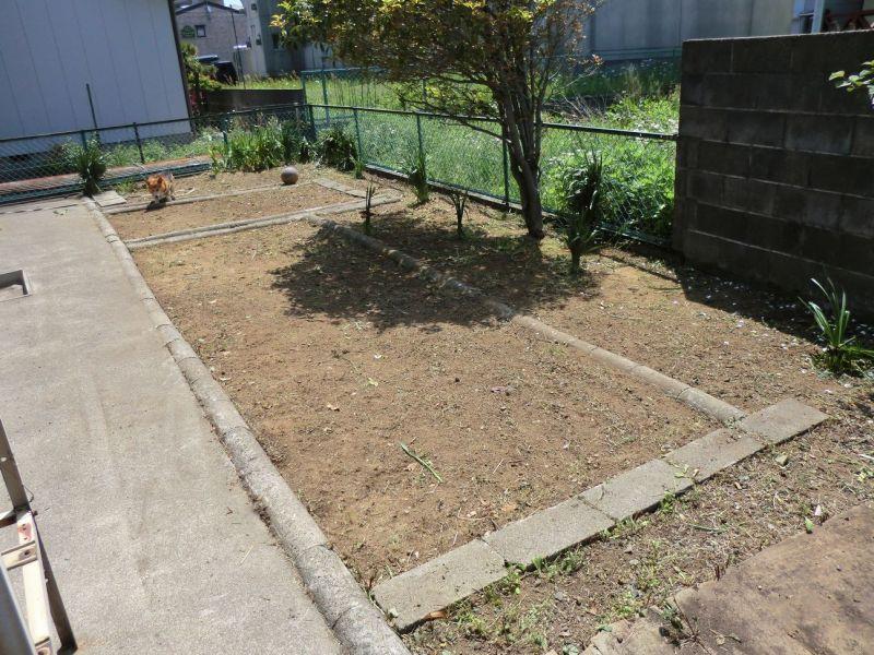 綺麗な広々とした庭に生まれ変わりました